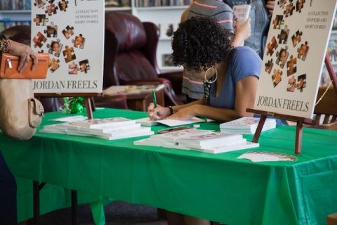 bday book signing